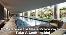 You Won't Believe This Billionaire's Doomsday Bunker