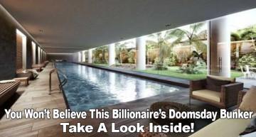 You Won't Believe This Billionaire's Doomsday Bunker