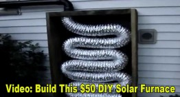 Build This $50 DIY Solar Furnace