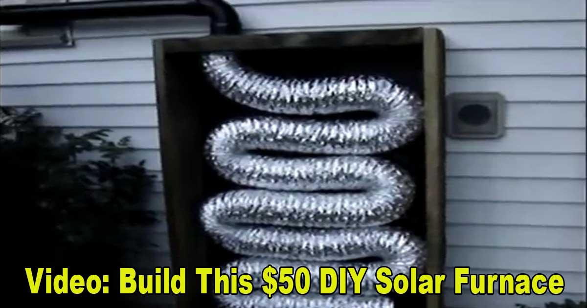 DIY Solar Furnace