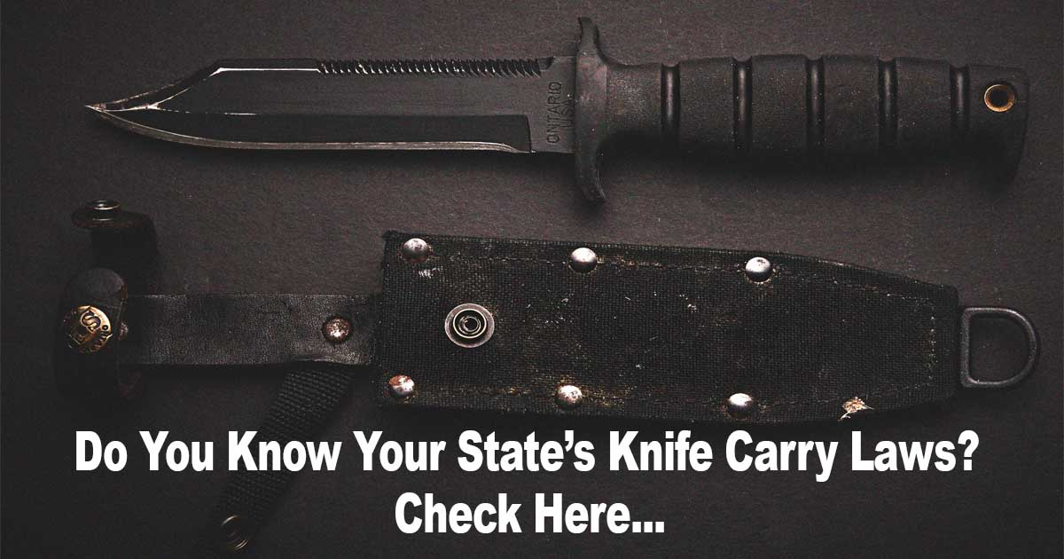 Knife Carry Laws