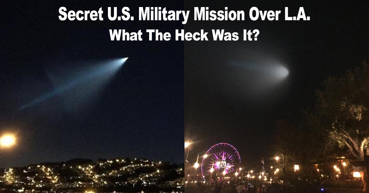 Military Mission Over Los Angeles