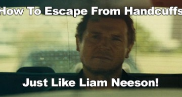 How To Escape From Handcuffs Like Liam Neeson!