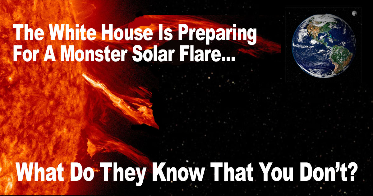 White House Solar Flare