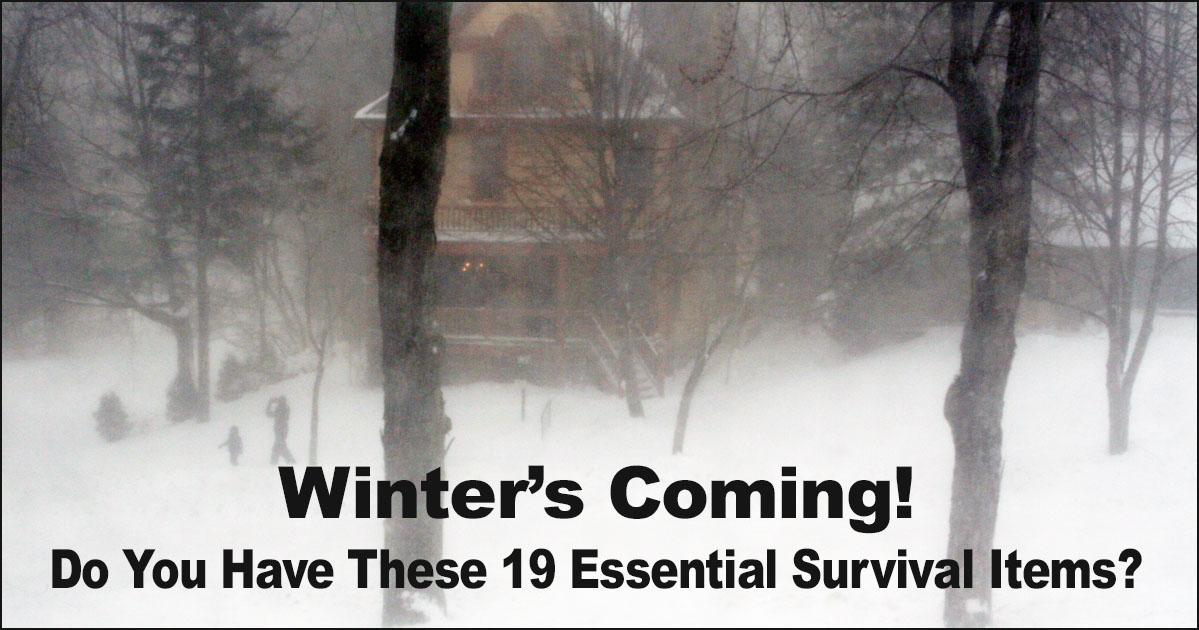 Winter Survival Essentials