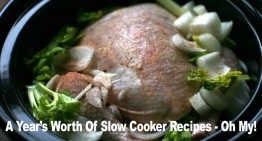 A Year's Worth Of Slow Cooker Recipes – Oh My!