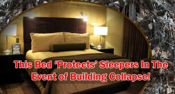 New Bed Automatically 'Protects' Sleepers During Building Collapse – Stupid or Worth A Buy?