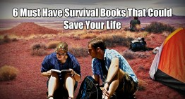 6 Must Have Survival Books That Could Save Your Life