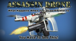 Man Straps Pistol to Drone…The Result Will Surprise You!