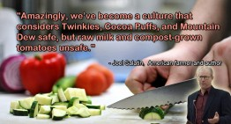 Joel Salatin on Processed Food
