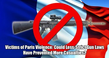 Victims of Paris Violence: Could Less-Strict Gun Laws Have Prevented More Casualties?
