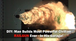 Man Builds Most Powerful Civilian Railgun Ever – In His Garage