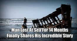 Man Lost At Sea For 14 Months – Finally Shares His Incredible Story