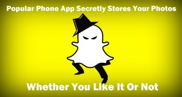 Popular Phone App Secretly Stores Your Photos – Whether You Like It Or Not