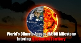 World's Climate Passes Major Milestone – Entering 'Uncharted Territory'