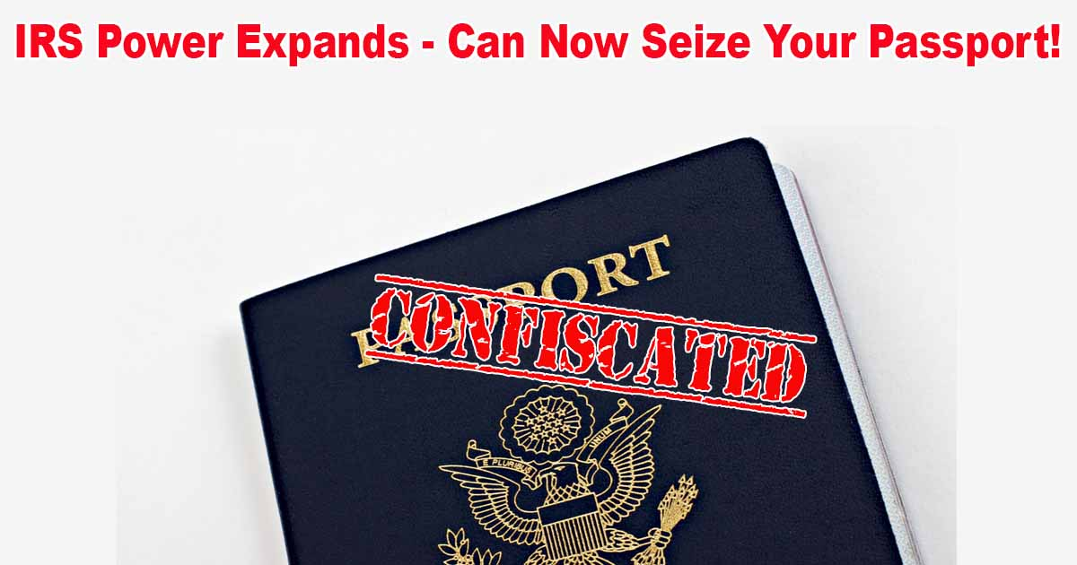IRS Seize Passport