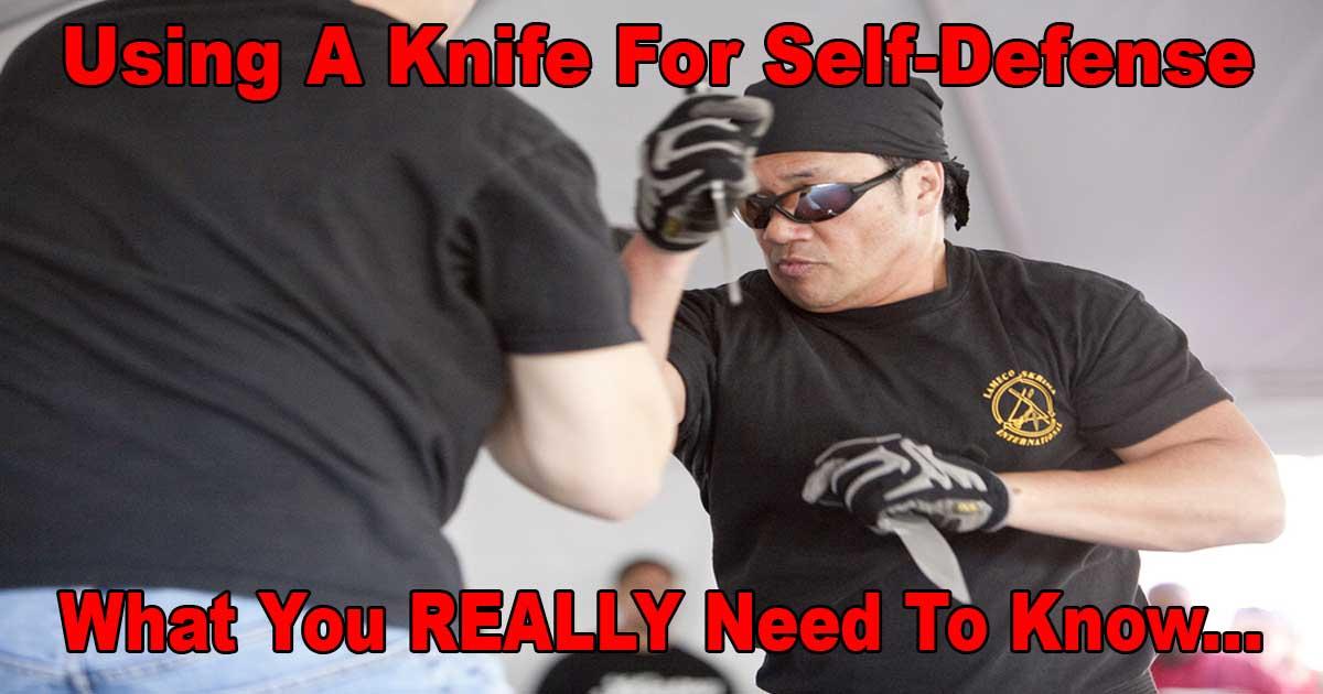 Knife Self Defense
