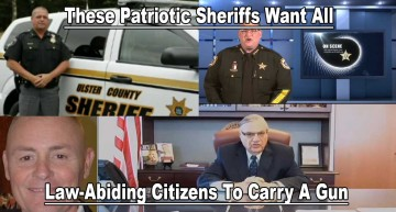 These Patriotic Sheriffs Want All Law-Abiding Citizens To Carry A Gun!
