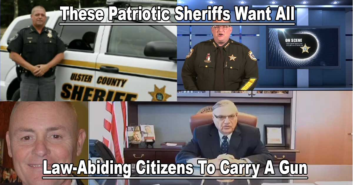 Sheriffs Want Citizens Carry Guns