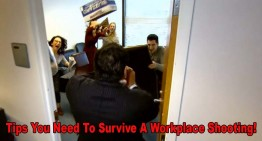 Tips You Need To Survive A Workplace Shooting!