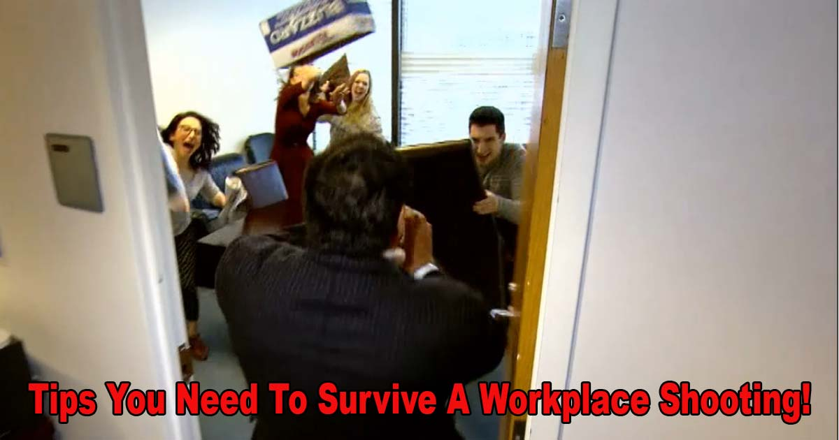 Tips Survive Workplace Shooting