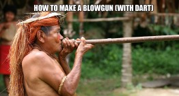 How To Make A Blowgun (With Dart)