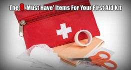 The 8 'Must Have' Items For Your First Aid Kit