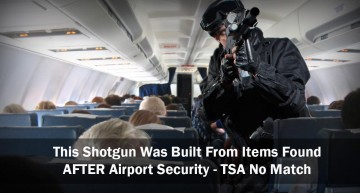 This Shotgun Was Built From Items Found After Airport Security – TSA No Match