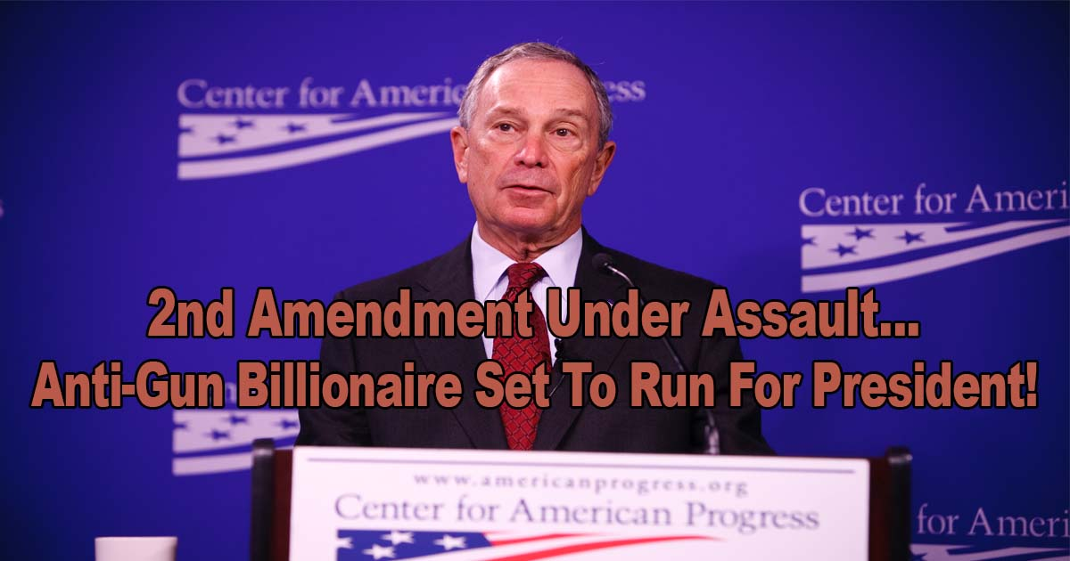 Anti Gun Billionaire Run President