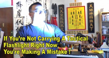 If You're Not Carrying A Tactical Flashlight Right Now, You're Making A Mistake!