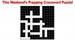 Weekend Prepping Crossword Puzzle – 1.30.16