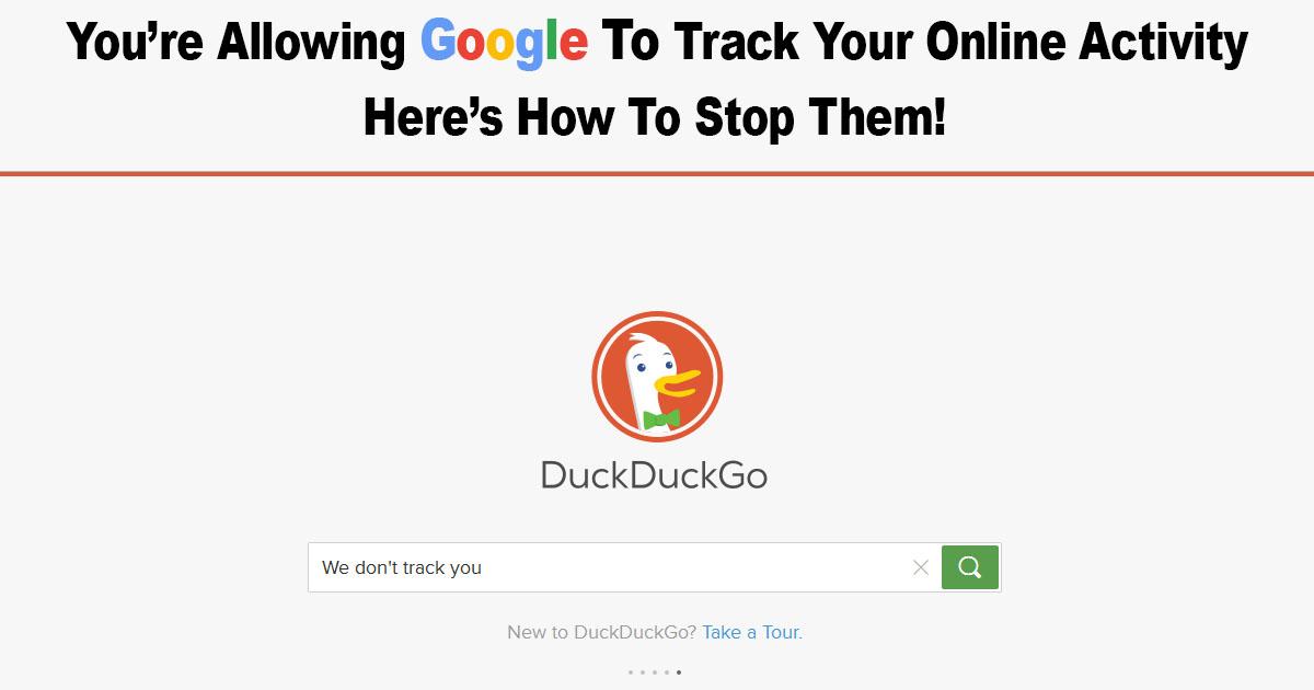 Google Track Online Activity