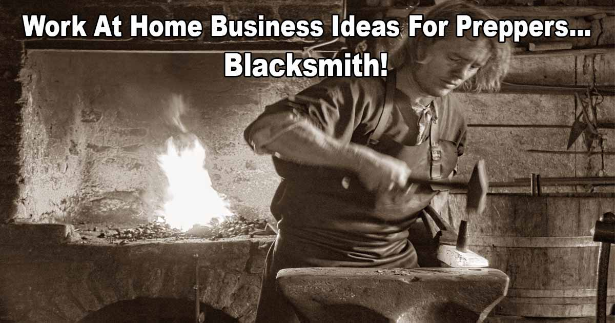 Prepper Business Ideas Blacksmith