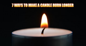 7 Ways To Make a Candle Burn Longer