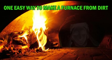 One Easy Way To Make An Oven From Dirt