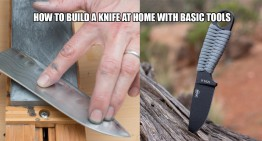 How To Build A Knife At Home With Basic Tools