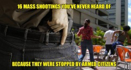 16 Mass Shootings You've Never Heard Of…Because They Were Stopped By Armed Citizens