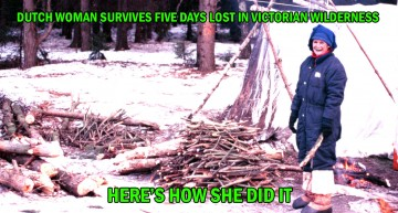 Dutch Woman Survives Five Days Lost In Victorian Wilderness – Here's How She Did It