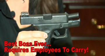 Best Boss Ever – Requires Employees To Carry!