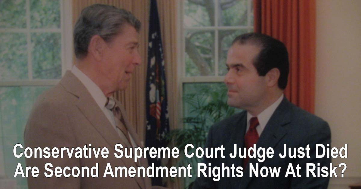Scalia Died Second Amendment