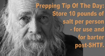 Prepping Tip Of The Day – 2.5.16