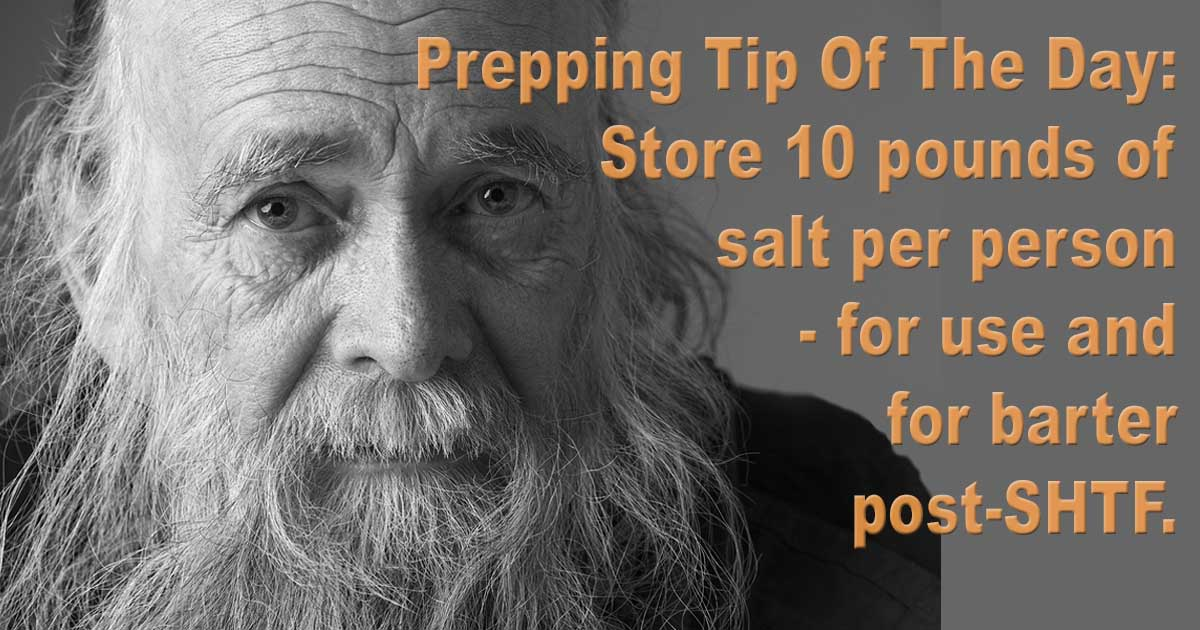 Store 10 Pounds Salt