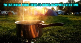 20 Essential Food Items To Bring Camping Everytime