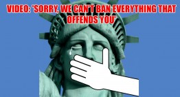 Video: 'Sorry, We Can't Ban Everything That Offends You'