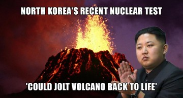 North Korea's Recent Nuclear Test 'Could Jolt Volcano Back To Life'