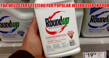 FDA Will Start Testing for Popular Weedkiller in Food