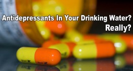 Are There Antidepressants In Your Drinking Water?