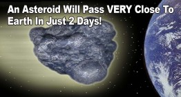 Asteroid Will Pass Very Close To Earth In Just Two Days!