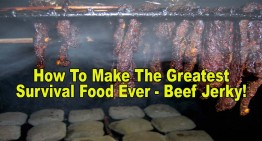 How To Make The Greatest Survival Food Ever – Beef Jerky!