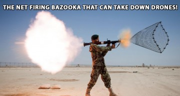 The Net Firing Bazooka That Can Take Down Drones